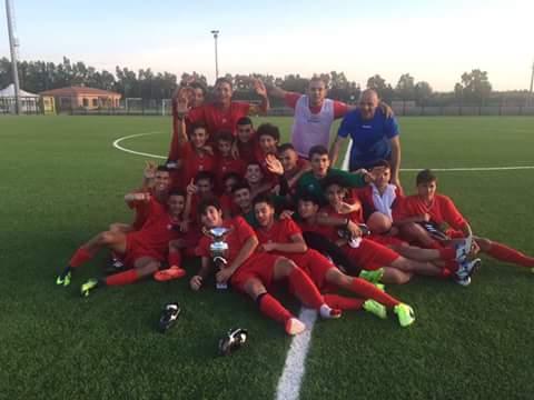 Calcio 1° Torneo Cenzo Soro. La rappresentativa Allievi di Sassari supera in finale per 1-0 quella di Cagliari