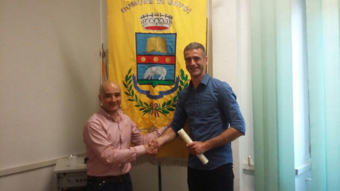 Roberto Mele capitano-bandiera del Taloro è cittadino onorario di Gavoi