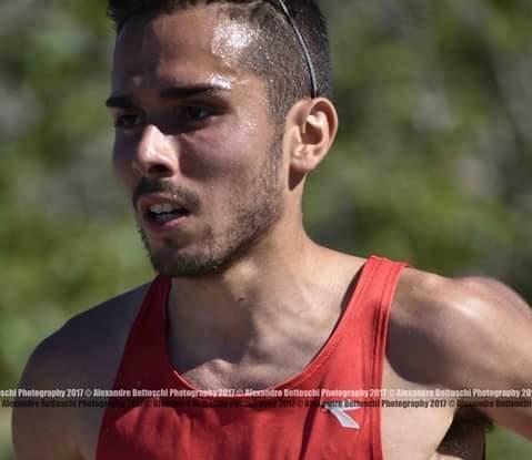 Atletica: il mezzofondista ghilarzese Gabriele Motzo campione italiano dei 5000 m ai Campionati universitari