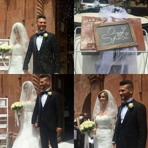 Augurissimi per il loro matrimonio a Sebastiano e Maria!