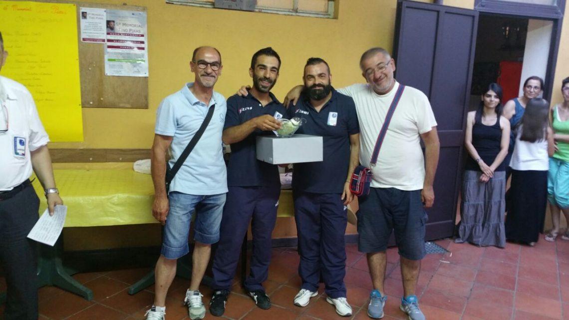 Bocce. A sorpresa la coppia ghilarzese Stefano Manca e Serafino Massidda si aggiudica il 6° Memorial Tino Piras di Ghilarza