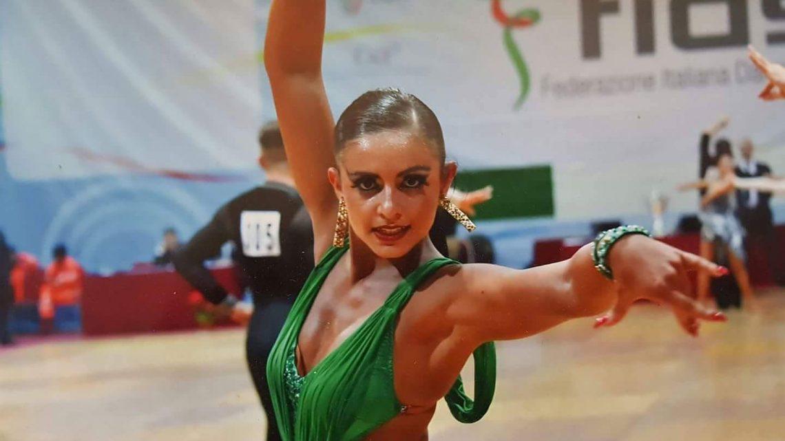 """Danza Sportiva. I """"sogni"""" della danzatrice Yulia Paba di Tramatza"""
