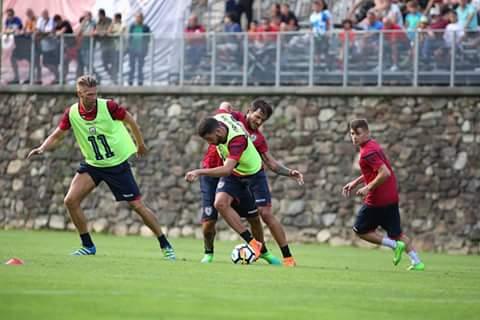 Calcio. Il Cagliari in amichevole ad Oristano giovedì 3 Agosto