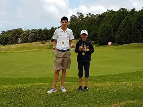 """Elia e Miguel Campus """"campioncini"""" di Golf in Portogallo"""