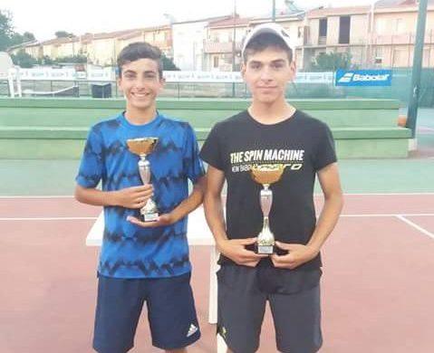 Tennis. Ancora due prestigiose vittorie per Manca e Citzia nel circuito FIT Kinder a Serramanna