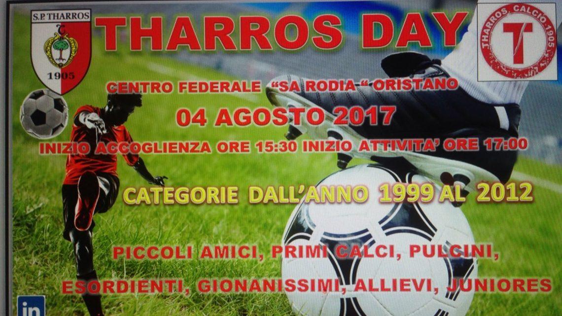 """Calcio giovanile. """"Tharros Day"""" il 4 Agosto ad Oristano per i nati dal 1999 al 2012"""
