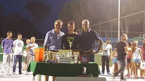 Tennis. Nicola Manca del T.C. Ghilarza si aggiudica il torneo di Guspini Under 14