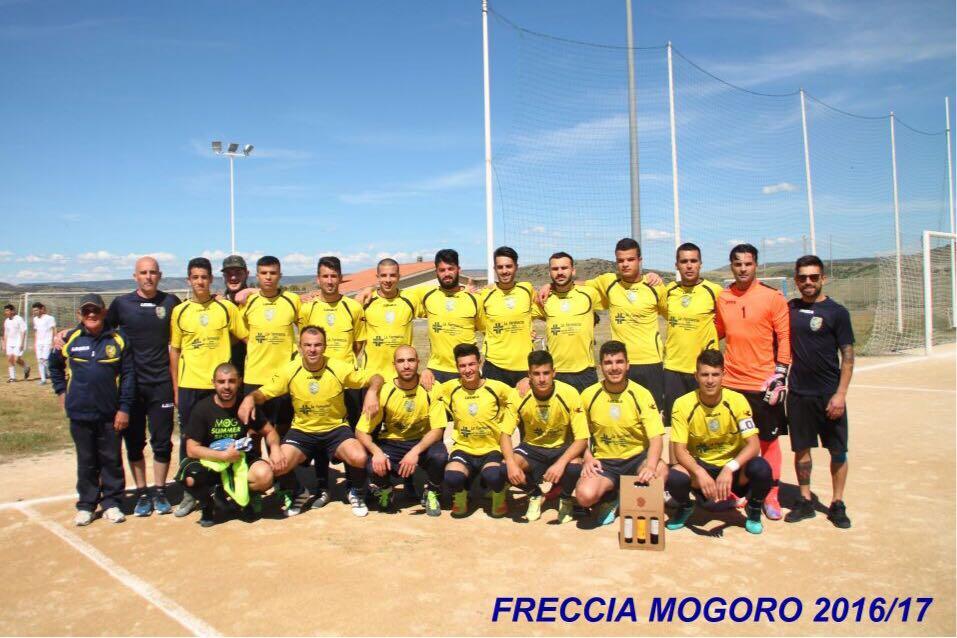 """Calcio 1a Categoria C. La Freccia Mogoro cambia nome ma non il """"progetto"""""""