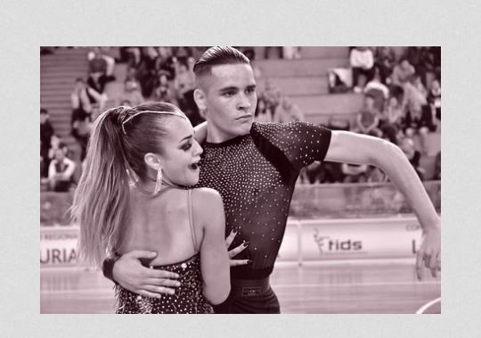 """Danza sportiva. Una stagione al """"top"""" per Alessia Carta e Andrea Erdas del Cuban Star"""
