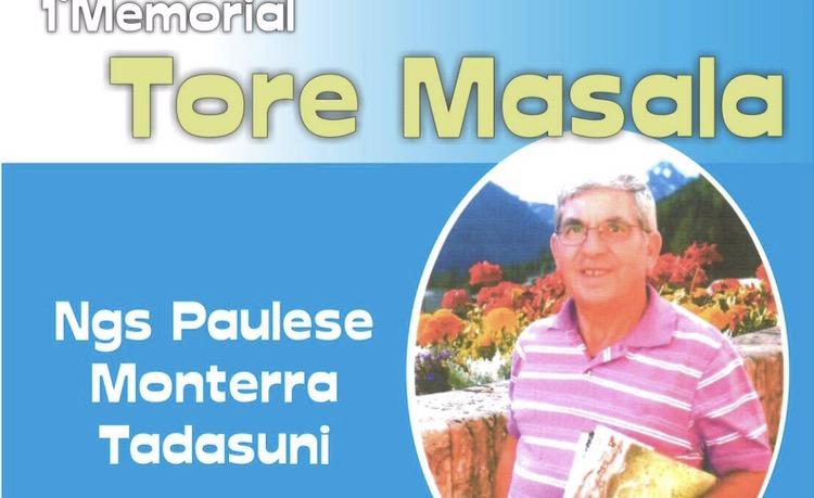 A Paulilatino il 1° Memorial Tore Masala per dare un calcio…ai tumori