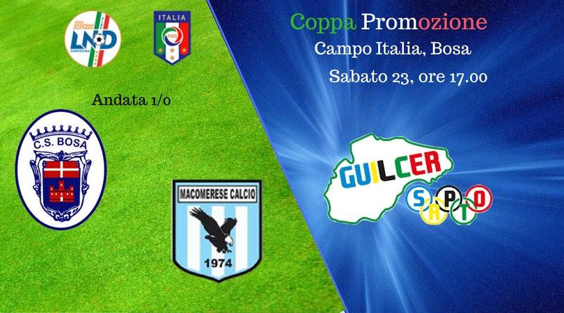 Calcio Coppa Promozione. Fonni prima qualificata. Oggi Bosa Macomerese, domani alle 11 Tharros Arborea