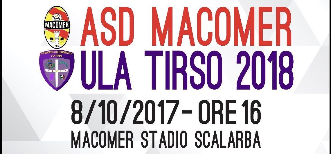 """Calcio 2a Categoria girone G. Il """"multietnico"""" Ula Tirso all'esordio con il Macomer"""