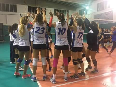 """Volley Serie C Femminile. """"Ariete Mareblu"""" espugna il campo del Gonnesa: termina 0-3"""