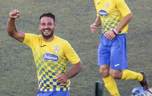Calcio Promozione A. Marco Atzeni dell'Arborea con 8 gol fra i tiratori scelti del girone
