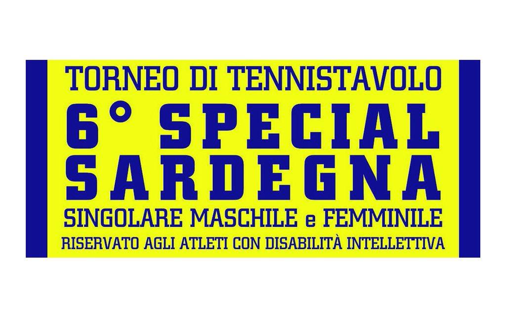 """Tennistavolo Norbello. Torneo promozionale 6° """"Special Sardegna"""" – 08 dicembre 2017"""