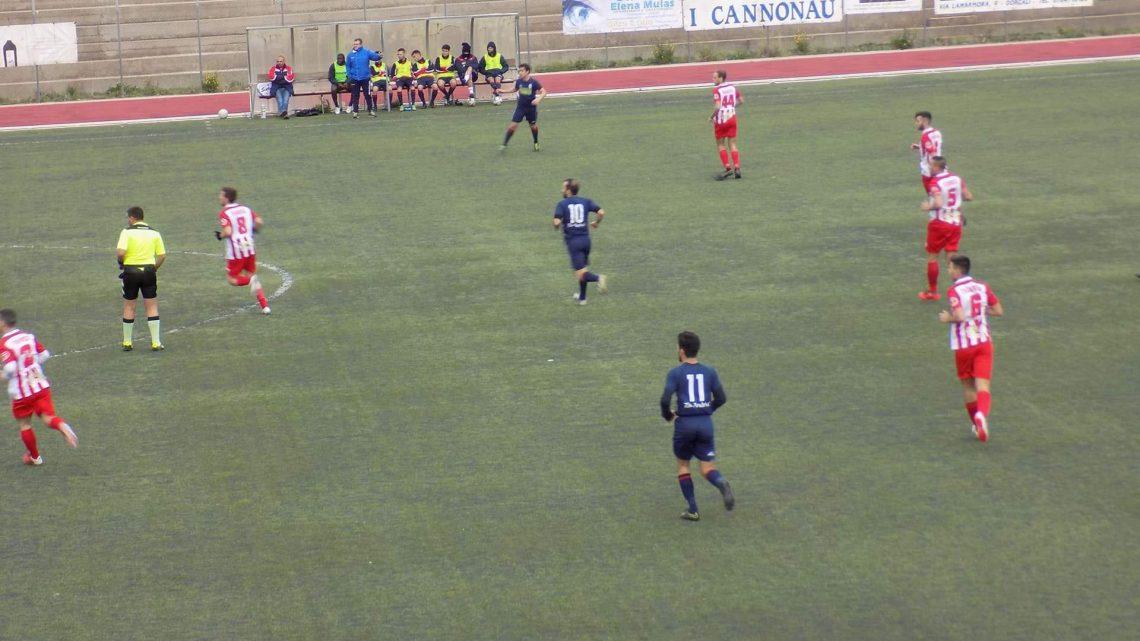 Calcio Promozione B. Continua il momento no della Tharros sconfitta a Dorgali per 2 0