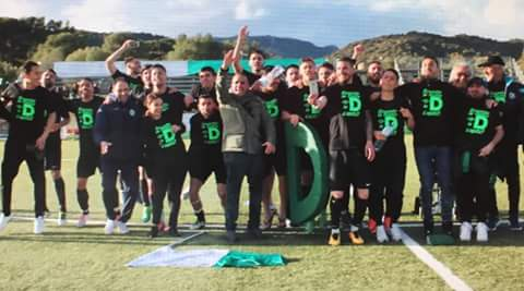 Calcio Eccellenza. La grande festa del Castiadas per il gran Salto in serie D
