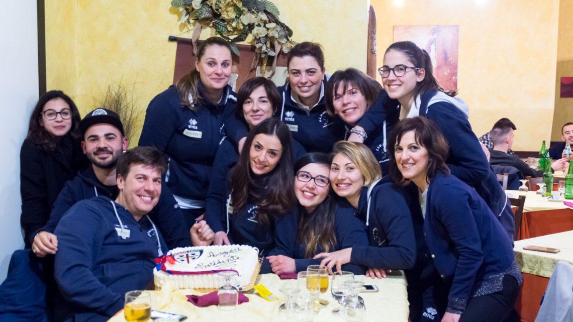 Pallavolo C femminile. Doppia festa per il Ghilarza: vittoria con l'Antes e compleanno del presidente