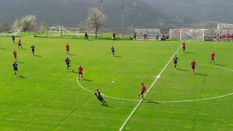 Calcio 1a Categoria C. Mauro Calvia fa grande l'Abbasanta ad Aritzo