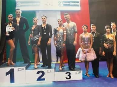 Danza sportiva. Altra grande gioia per il Guilcer: Alessia Carta e Andrea Erdas campioni italiani a Napoli