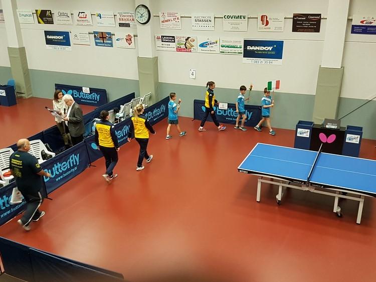 Coppa Europea Tennistavolo Femminile. Norbello gioca il terzo turno in Russia