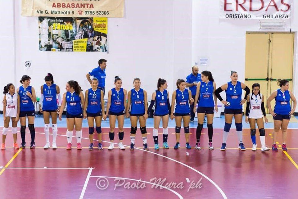 Volley C femminile. Vittoria nel derby con l'Ariete e il Ghilarza fa tre su tre