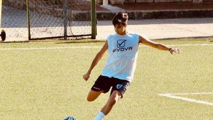 CALCIO ECCELLENZA / Il centrocampista ghilarzese Federico Bachis ( 1999) neo acquisto della Nuorese