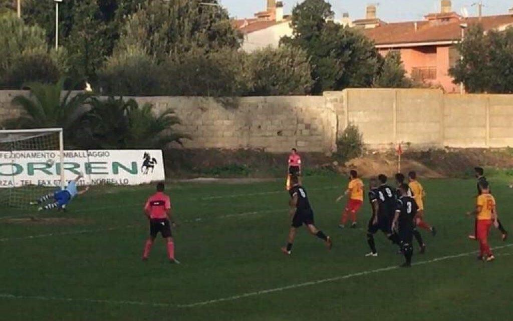Calcio Eccellenza Video Notizia. Il gol del Ghilarza su rigore di Giulio Pinna contro il Samassi