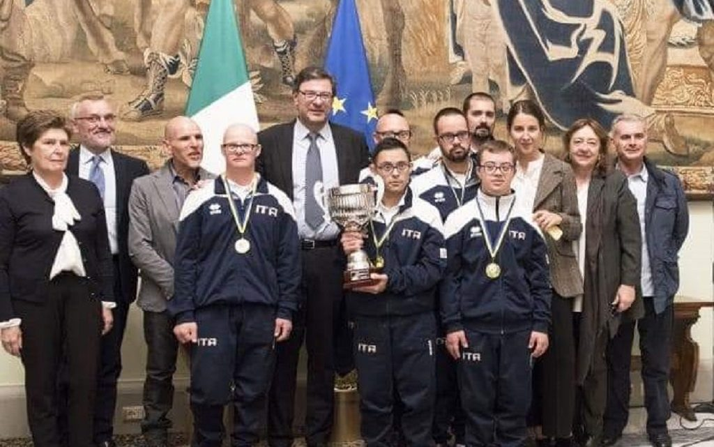 Premiati a Roma i campioni oristanesi di Basket paralimpico
