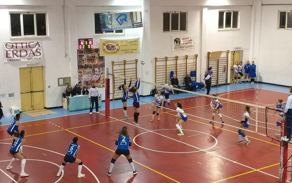 Video notizia Volley C Femminile. Ghilarza solo al comando: 3- 0 all'Orion Sassari