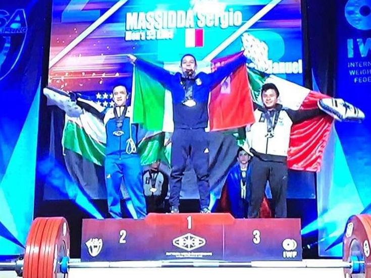Chi é Sergio Massidda:  dal 1951 l'Italia non vinceva un mondiale nella pesistica