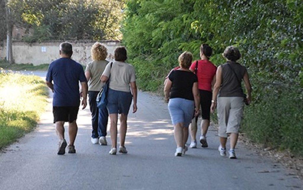 """""""Ajo…a camminare"""".  Riprende da Norbello  l'attività dei """"camminatori"""" del Guilcier"""