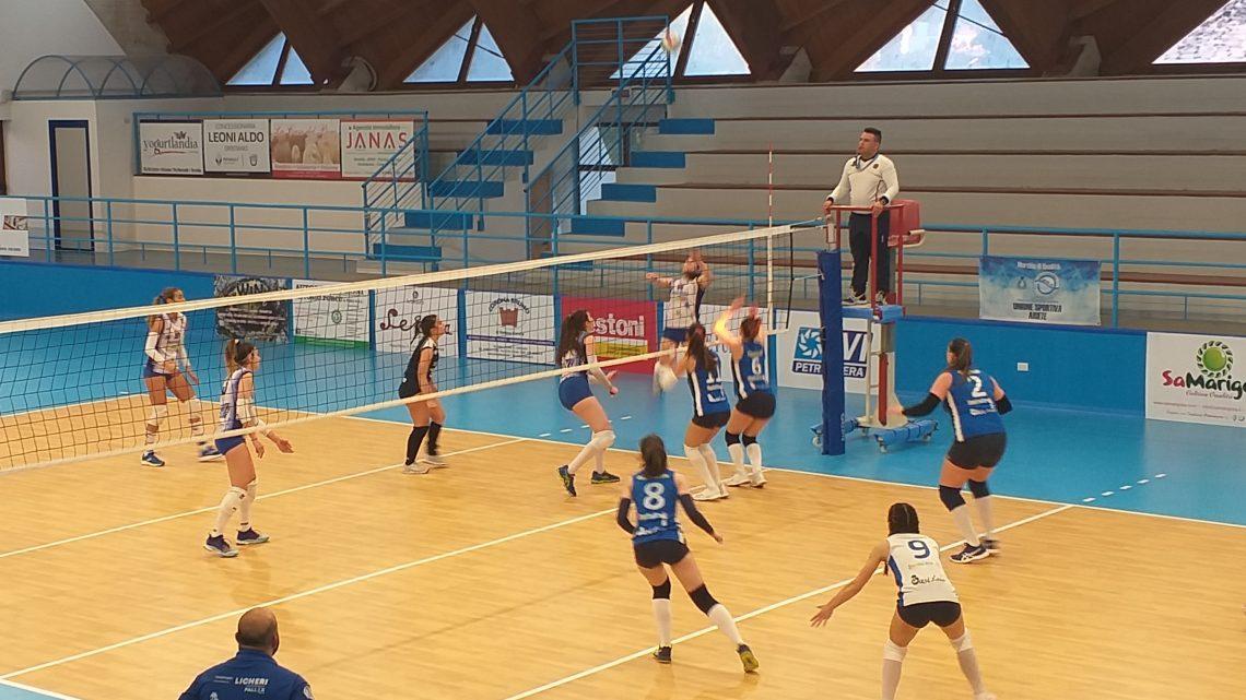 """Playoff Volley femminile C. Gara 2 all'Ariete: sabato la""""bella""""a Ghilarza per il passaggio in B2"""