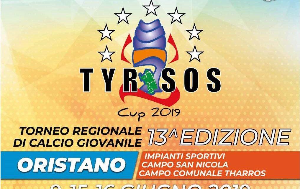 """Dal 9 al 16 Giugno Oristano """"capitale"""" del calcio giovanile con la Tyrsos Cup"""