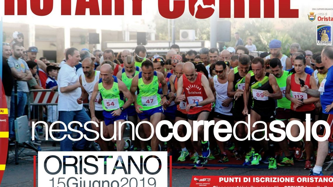 A Oristano si corre per solidarietà grazie al Rotary