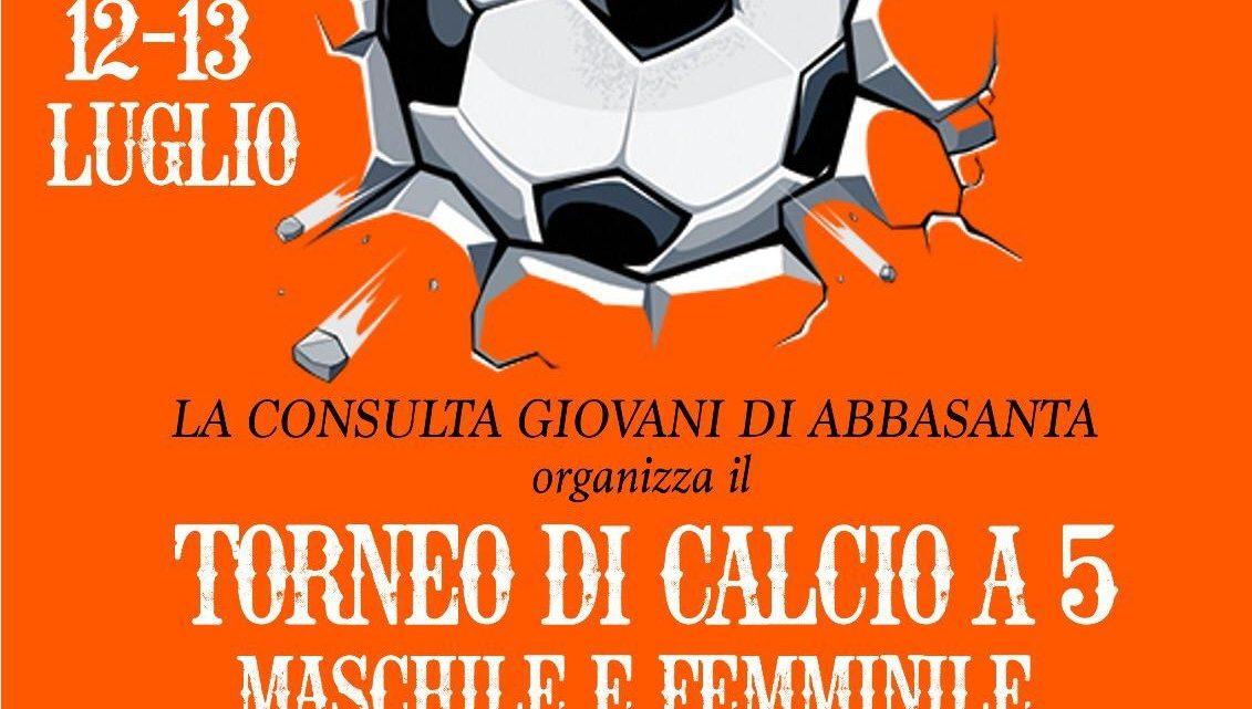 Calcio 5. Aperte le iscrizioni al torneo promosso dalla Consulta Giovani di Abbasanta