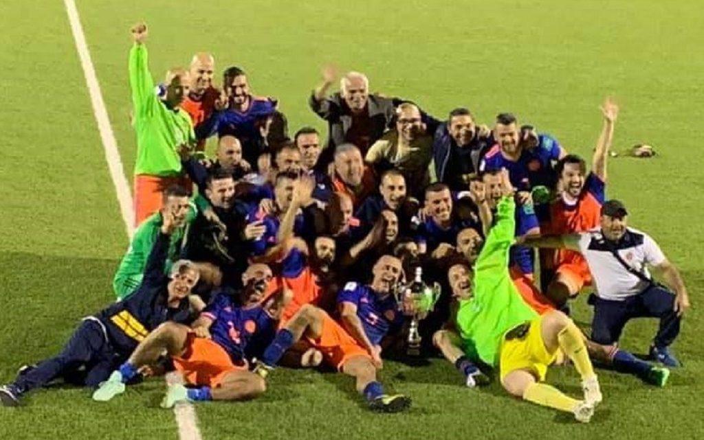Ultimora calcio. L'Andrea Pinna Rappresentanze Ghilarza campione provinciale over 35
