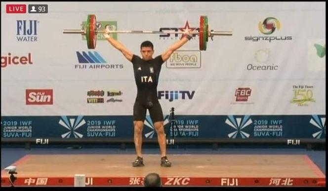 PESI /  Anche l'atleta ghilarzese Sergio Massidda ai mondiali Junior in Uzbekistan da oggi al 31 maggio