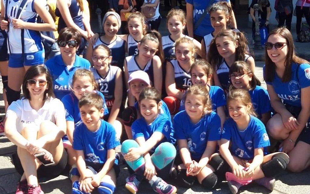 Anche le pallavoliste ghilarzesi alla festa del volley di Cagliari