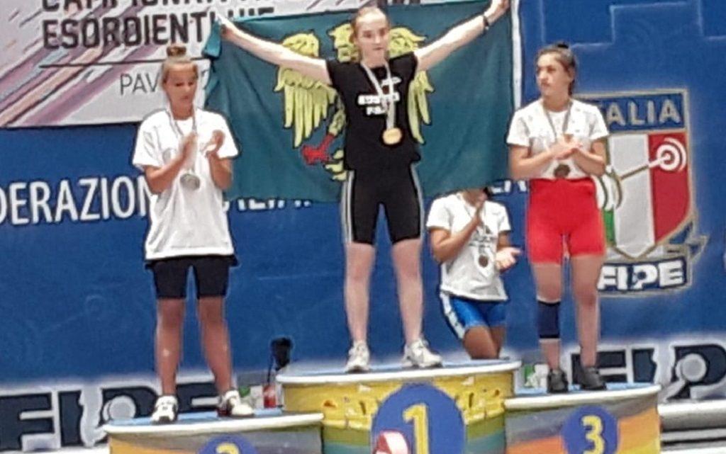 Sollevamento Pesi. Medaglia di Bronzo per la paulese Pirisinu ai campionati nazionali