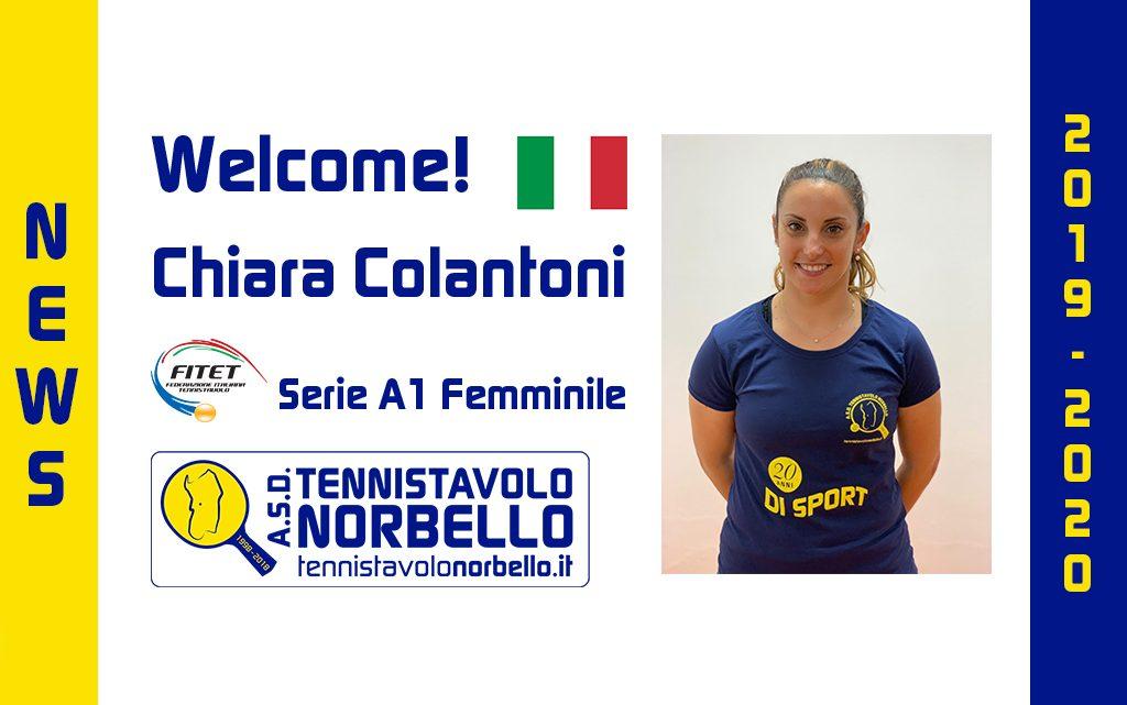 Tennistavolo Norbello. L'azzurra Chiara Colantoni rinforza la A1 Femminile