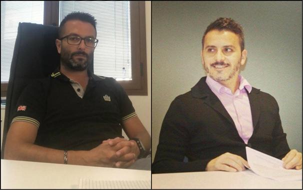 """Calcio 2A categoria E. Il DS Diego Carboni e il Team Manager Fabio Pinna presentano la """"famiglia"""" Folgore Oristano"""