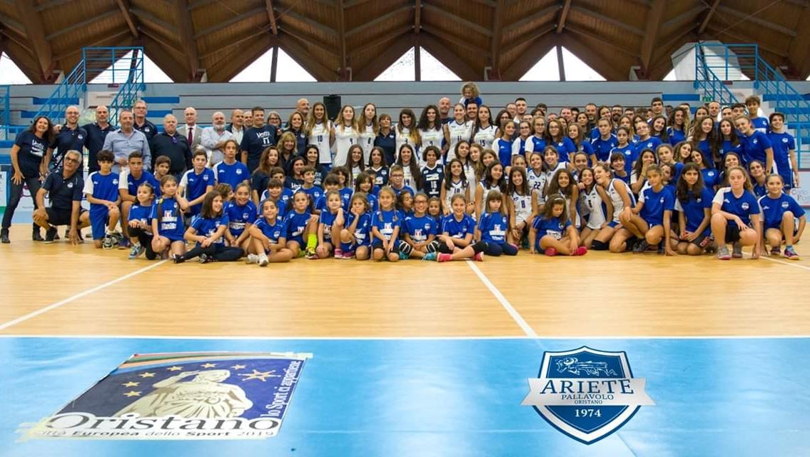 Volley. Presentata ufficialmente la stagione 2919 – 20 dell'Ariete Oristano