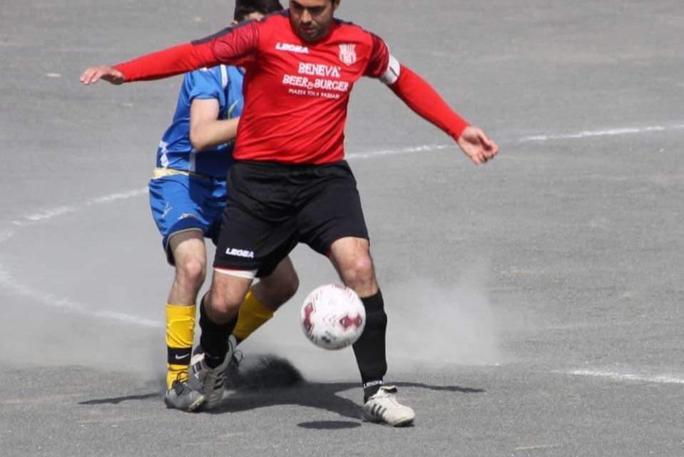 """Calcio 2A Categoria F. Il capitano dell' Aidomaggiorese Danilo Piras ,""""scommette"""" sulla sua squadra"""
