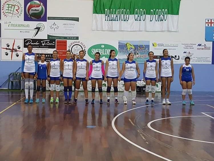PallavoloC femminile. Esordio da dimenticare per il Gsd Volley Ghilarza sconfitto3 0