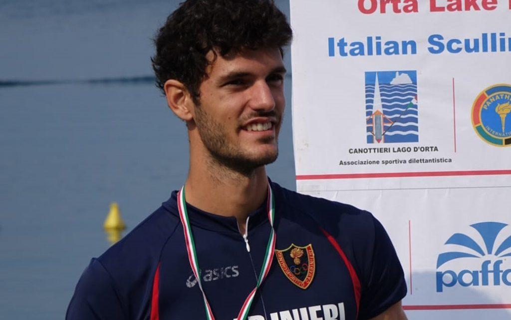 Il campione oristanese, Stefano Oppo, nominato atleta dell'anno dalla Federazione Canottaggio