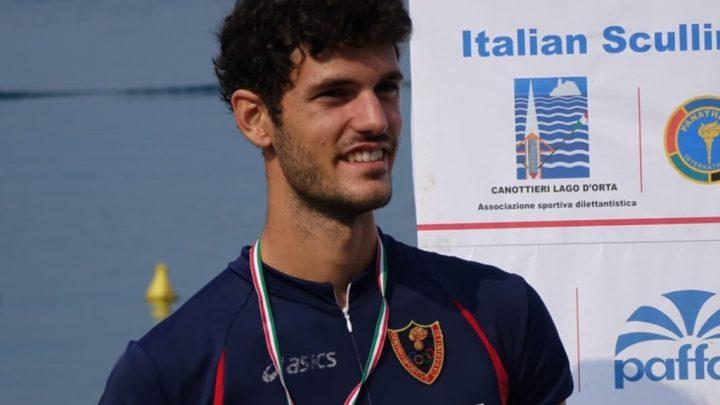 Canottaggio.Il campione oristanese Stefano Oppo in partenza per il primo raduno olimpico post Covid