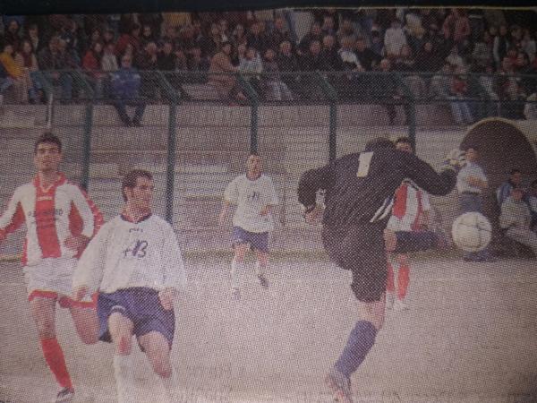Polvere di stelle. Anche 15 anni fa' l'Abbasanta vinse col Borore per 4-3 al 95° con gol di Marchi