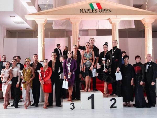 Danza. Andrea Erdas e Alessia Carta 4° classificati al Campionato del Mondo WDO U.21 Latin 2019
