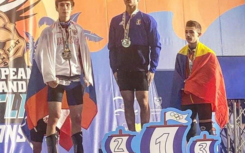 Pesistica. Sergio Massidda stupisce ancora e diventa campione europeo youth in Israele
